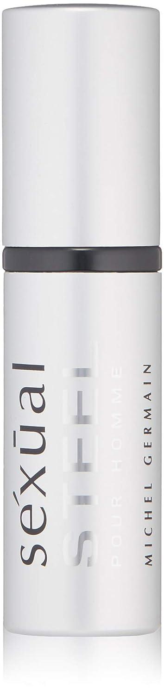 Michel Germain Sexual Steel Pour Homme Eau de Parfum Refillable Purse Spray, 8ml