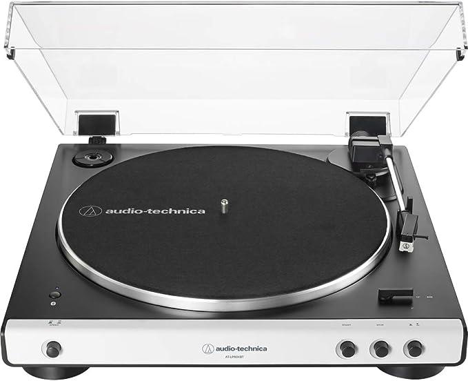 Amazon.com: Audio-Technica AT-LP60XBTWH - Mesa giratoria ...