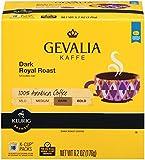 GEVALIA Dark Royal Roast Coffee, K-CUP Pods, 72 count (4 Boxes of 18)