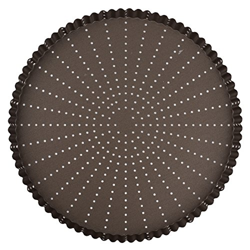 Gobel Perforated Tart Mold, Fluted - Non-Stick - 11.8in (300mm)