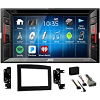 JVC DVD Player Monitor w/Bluetooth/USB/iPhone/Android For 2006-08 Dodge Ram 1500