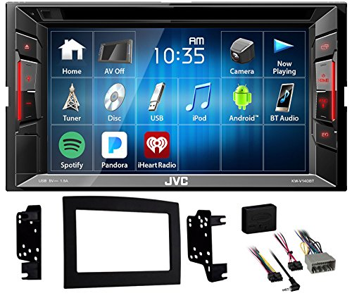 2006 06 Dodge Ram Truck (2006-2008 Dodge Ram 1500 JVC DVD Player Monitor w/Bluetooth/USB/iPhone/Android)
