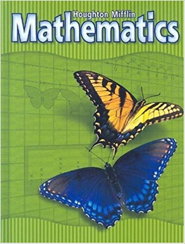 Math Worksheets houghton mifflin math worksheets grade 5 : Houghton Mifflin Mathematics: Level 3, Student Edition: HOUGHTON ...