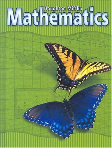 Houghton Mifflin Mathematics: Level 3, Student Edition