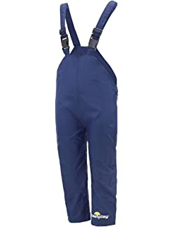 Trespass Kids Waterproof Dungarees RAIN Over Trousers