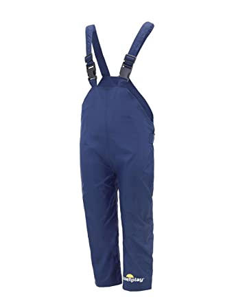 60984d5208f2d Wetplay Kids Waterproof Dungarees RAIN Over Trousers Boys Girls Childs  Childrens: Amazon.co.uk: Clothing