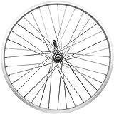 "Flying Horse Heavy Duty 12 Gauge Coaster Brake Rear 26"" x 1.5"" Bicycle Rim Set – Gas Bike HD Rim Upgrade (Silver)"
