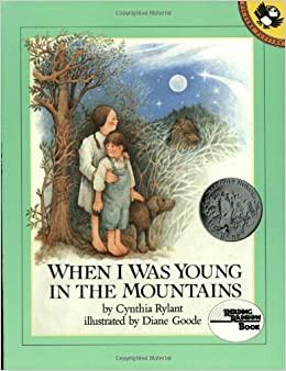 Image result for when i was young in the mountain
