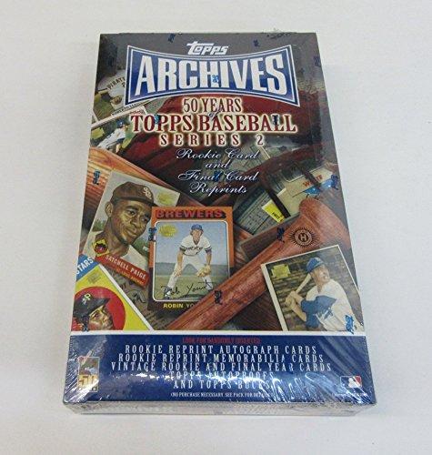 2001 Topps Archives Baseball Series 2 Box (Hobby) (Cards Topps 2001 Baseball)