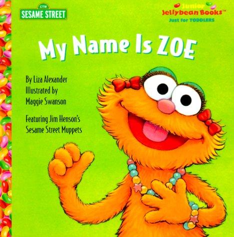 Name Zoe Junior Jellybean Books