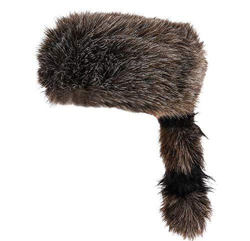 Rhode Island Novelty Faux Raccoon Tail Hat | One Per Order -