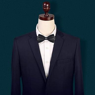 fjchyy Pajarita Boda para hombres Traje de boda Versión del traje ...