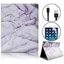 iPad Mini 3/2/1 Wallet Case, Bonice [Marble Series] Premium Pattern Leather Stand Folio Case Antiscratch Shockproof Protective Case Cover for Apple iPad Mini 2/3/1 - Marble 02