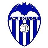 La Liga - Valencia C.F. Waterproof Vinyl Decal Stickers (Set of 2) for MacBook - Laptop - Phone - Helmet - Car Window Bumper - Mug - Cup - Door - Wall - Home Decoration