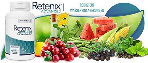 Retenix Advanced - Elimina La Retención De Agua - Potente Suplemento Diurético Natural - Ayuda A Perder Peso Rápidamente - 60 Cápsulas: Amazon.es: Salud y ...