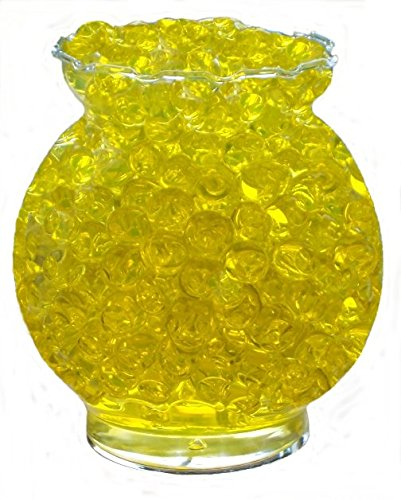 Golden Yellow Wholesale Water Beads Bulk Bag - Makes 15 Gallons - 3rd Bag Is Free (Beads Wholesale Party)