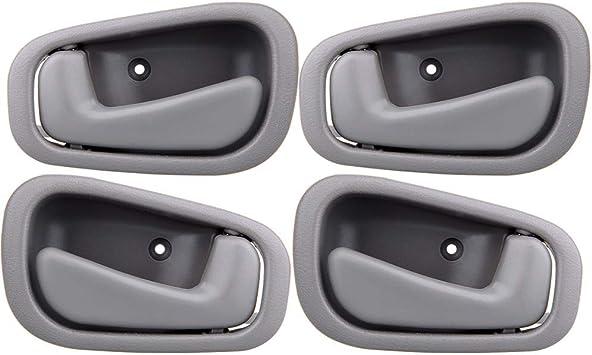 Amazon Com Eccpp Door Handles Interior Inside Inner Front Rear Passenger Driver Side For 1998 1999 2000 2001 2002 Corolla Gray 4pcs Automotive