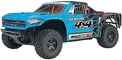 SC AR102678 Senton 4x4 Mega Short Course Truck RTR Bl//Blck ARAAR102678