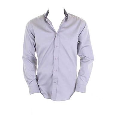 Kustom Kit Mens Contrast Premium Oxford Shirt Long Sleeve: Amazon.de:  Bekleidung