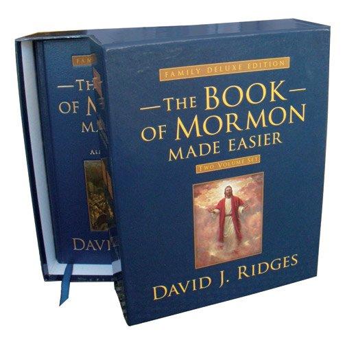 - Book of Mormon Made Easier: Family Deluxe Edition Set (Volumes 1 & 2) (Gospel Studies Series)