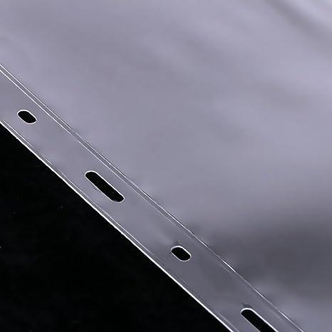 3 L/ínea IPOTCH Set DE 10 Piezas de Almacenamiento de Monedas /Álbum de Billetes Fotos Hoja Suelta con 9 Agujero DIY para Colecci/ón
