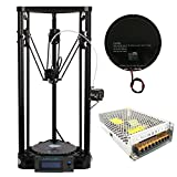 Anycubic Upgraded Pulley Version Unassemble Delta Rostock 3D Printer Kossel Kit Large Print Size φ180x300mm Anycubic Printers