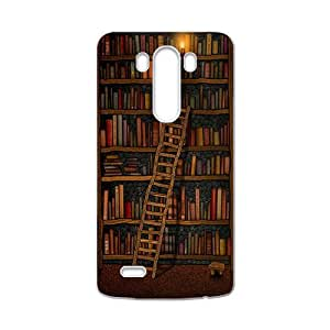 Light candle bookshelf with book Cell Phone Case for LG G3