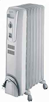 Delonghi TRH0715 1500W Basic Oil Filled Radiator Portable Heater