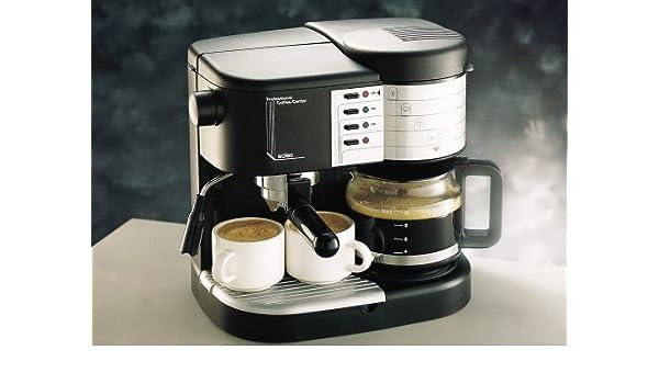 Solac c196n - cafetera expres combi: Amazon.es: Hogar