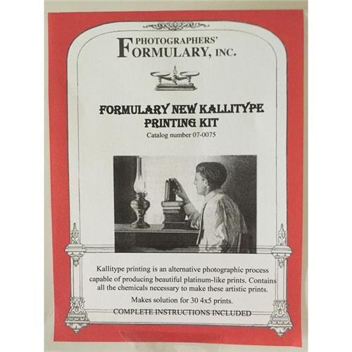 Photographers' Formulary New Kallitype Printing Kit