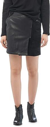 Salsa Mini Falda 122062 Polipiel para Mujer: Amazon.es: Ropa y ...