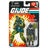 G.I. Joe 25th Anniversary Wave 8 - Arctic Trooper Snake Eyes Action Figure