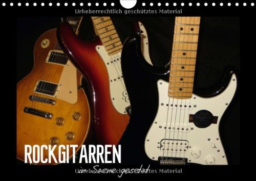 rockgitarren-in-szene-gesetzt-wandkalender-2014-din-a4-quer-auf-jedem-kalenderblatt-prsentiert-sich-eine-andere-gitarrenschnheit-monatskalender-14-seiten