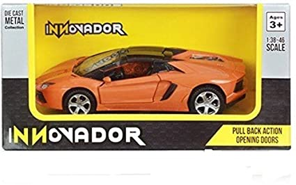 Buy Innovador 1 38 Lamborghini Aventador Lp 700 4 Roadster Orange