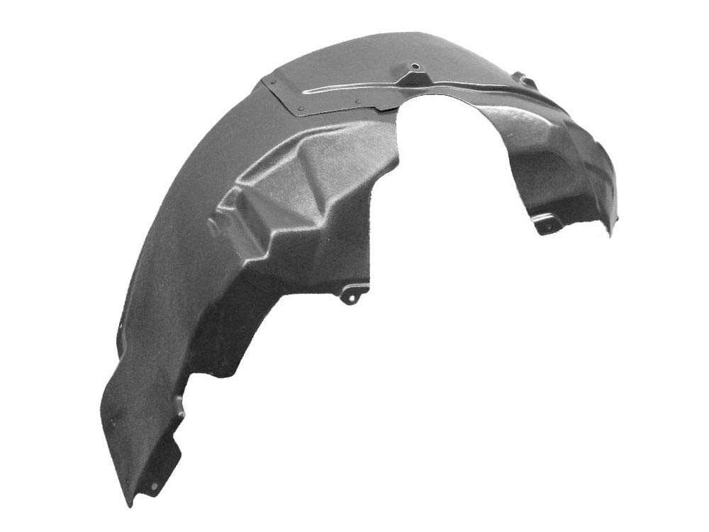 KA Depot for Fusion 2007-2012 6E5Z16103A FO1250136 Front Driver Left Side Fender Liner Inner Panel Plastic Guard Shield