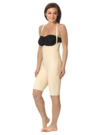8378108e99 Marena Support Girdle with Suspenders and Short Legs at Amazon Women's  Clothing store: