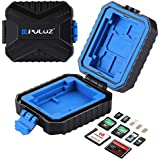 PULUZ Memory Cards Case, Waterproof XQD SIM Micro SD CF TF Card Holder Stocker Storage Box (11 Slots: 3SIM + 2XQD + 2CF + 2TF + 2SD Card)