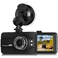 Coredy Dash Camera 1080P Full HD 170 Degree Wide Angle...