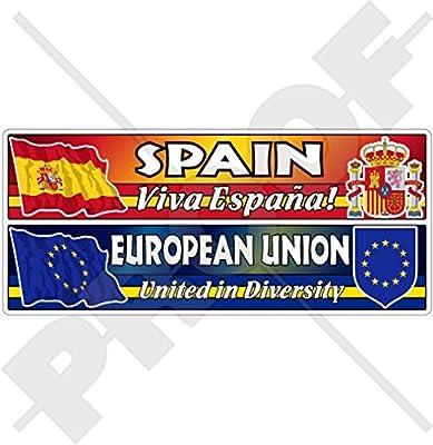 spain-european Unión flag-coat de arms-viva Espana eu-es europe ...