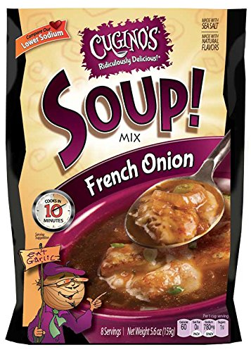 Cugino's French Onion Soup Mix (Formerly Baked Burgundy French Onion)Pack of 6