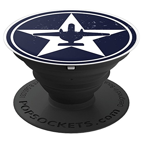 E2c Hawkeye Aviation Pilot Usaf Star Aircraft Roundel   Popsockets Grip And Stand For Phones And Tablets