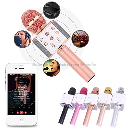 - JohnnyBui - Wireless Karaoke Microphone Bluetooth Speaker Track Surround Sound Voice Q7 J05 19
