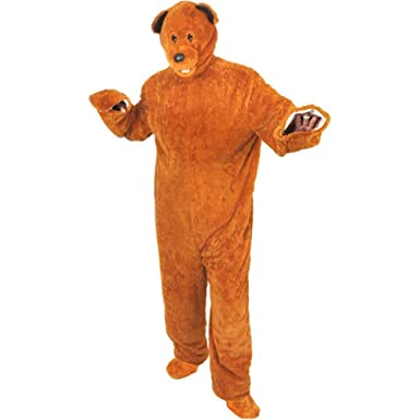 Adultu0027s Teddy Bear Halloween Costume (One Size)  sc 1 st  Amazon.com & Amazon.com: Adultu0027s Teddy Bear Halloween Costume (One Size): Clothing
