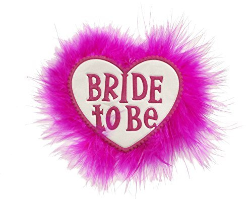 Forum Novelties 67927 Bachelorette Party Bride To Be Bridal Button, Multi-color (Pack of 12)]()