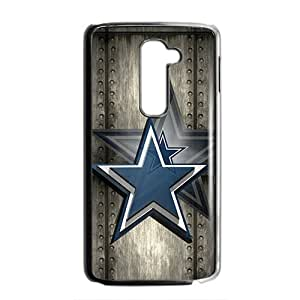 NFL Dallas Cowboys Black Phone Case for LG G2