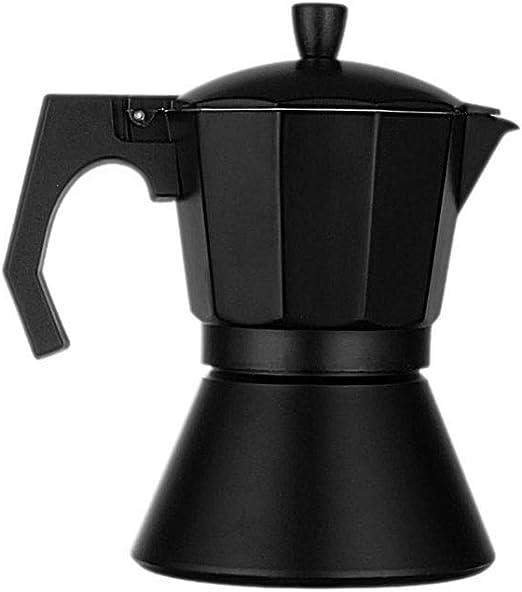 JUNPE cafetera Color Plata Moka Pot, Cafetera Eléctrica De ...