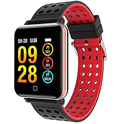 SMDFDN Smart Watch Swimming cycling football running Monitor SmartWatch Sport Fitness Tracker Smart Bracelet Wristbands Estimated Price £56.69 -