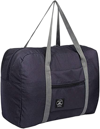 Travel Luggage Duffle Bag Lightweight Portable Handbag Pink Feather Print Large Capacity Waterproof Foldable Storage Tote