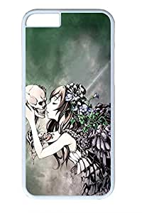 Cool Skull 19 Slim Hard Cover for iPhone 6 Case (4.7 inch) PC Transparent Cases