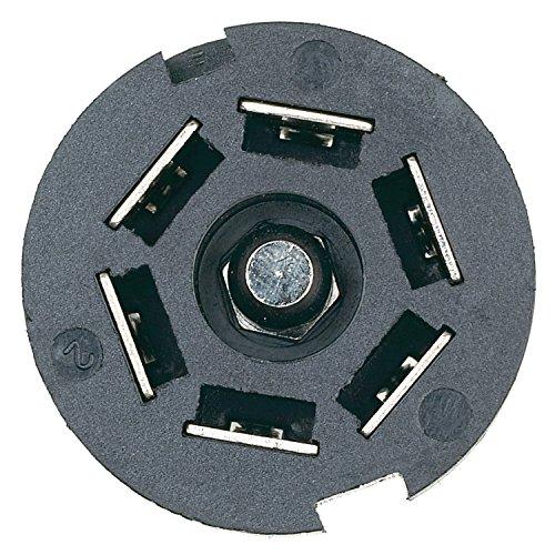 Hopkins 48505 7 Pole RV Blade Trailer Connector -